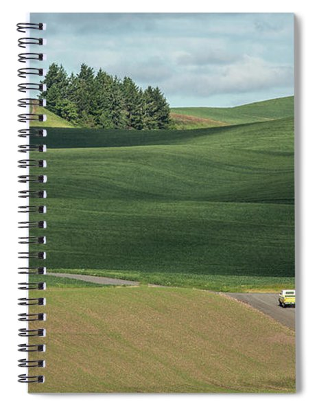 Drive In The Palouse Spiral Notebook