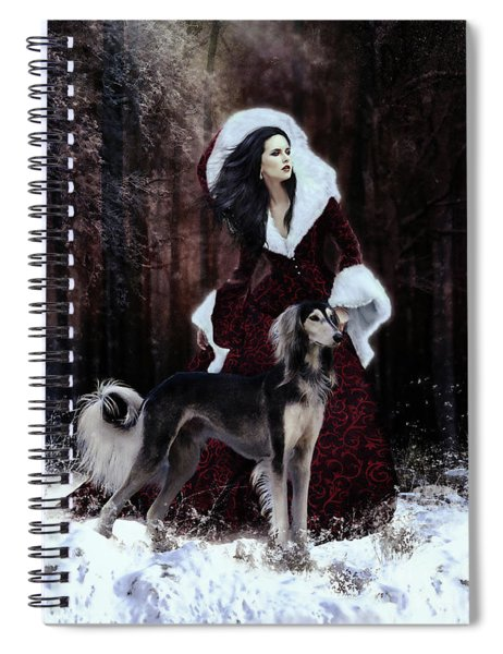 Drive The Cold Winter Away Spiral Notebook