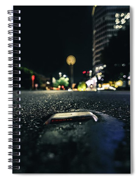 Dropped Pin Spiral Notebook