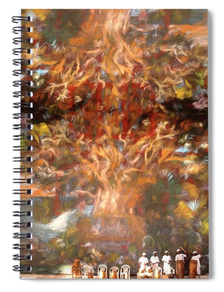 Drummers In A Windswept Dream Spiral Notebook