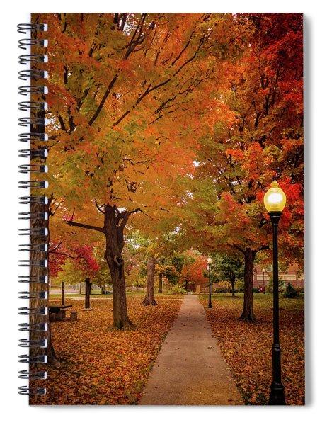 Drury Autumn Spiral Notebook