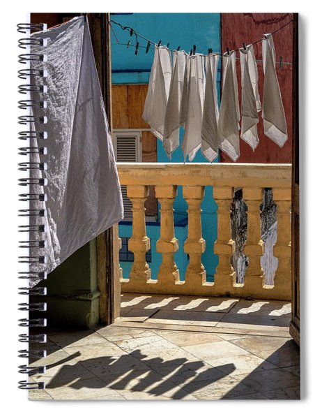 Drying Napkins Spiral Notebook