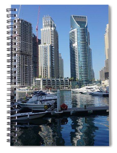 Dubai Marina Spiral Notebook