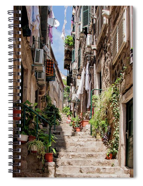 Dubrovnik Streets 6 Spiral Notebook