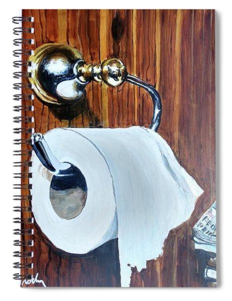 Duchamp's Paperwork Spiral Notebook