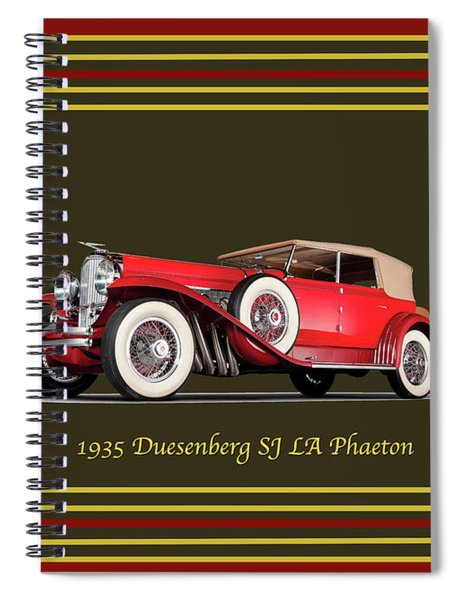 Duesenberg 1935 Spiral Notebook
