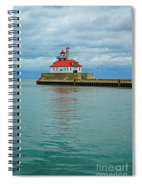 Duluth Lighthouse 2 Spiral Notebook
