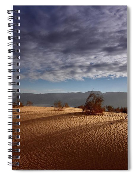 Dune In Motion Spiral Notebook