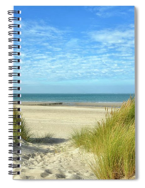 Dunes-day In October Spiral Notebook