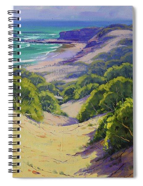 Dunes To The Beach Spiral Notebook