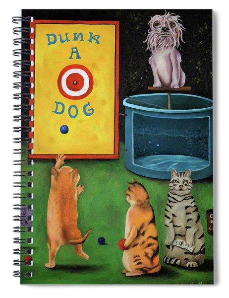 Dunk A Dog Spiral Notebook