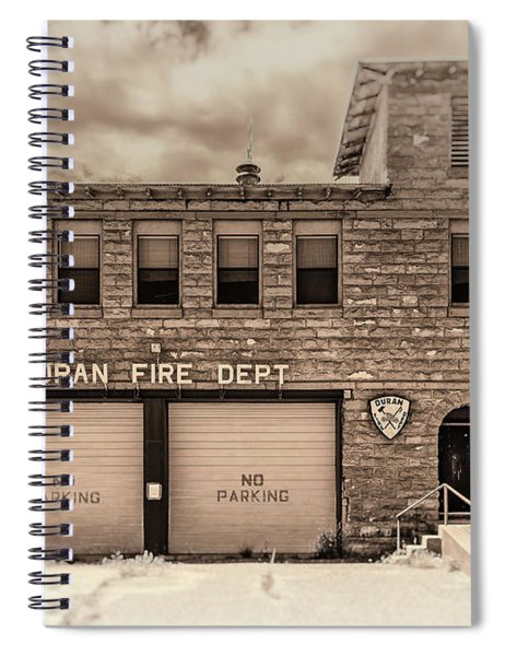 Duran Fire Dept Spiral Notebook