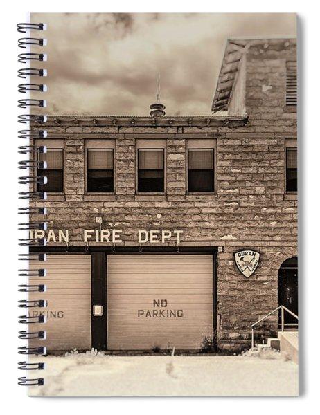 Duran Fire Dept Spiral Notebook