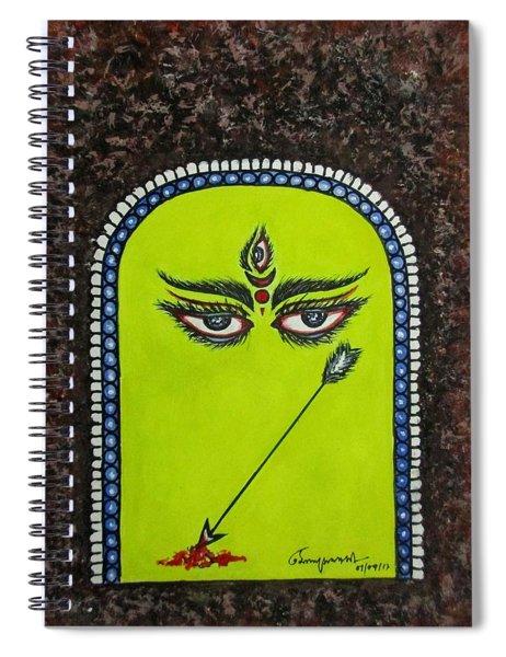 Devi Durga-2 Spiral Notebook