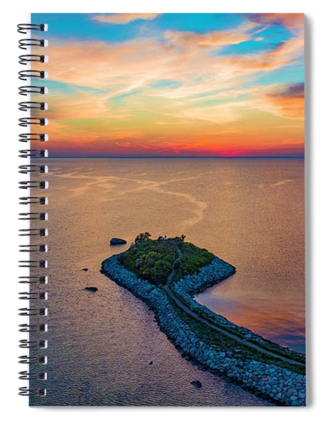 Dusk At The Knob Spiral Notebook