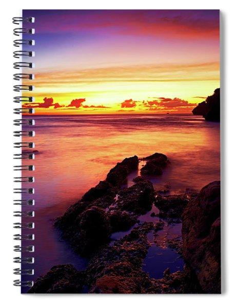 Dusk, Columbus Bay Spiral Notebook