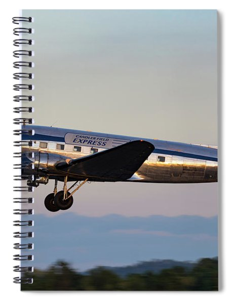 Dusk Departure Spiral Notebook