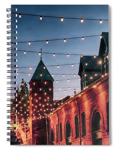 Dusk Lights Spiral Notebook