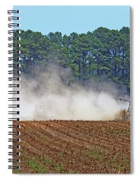 Dust Farming Spiral Notebook