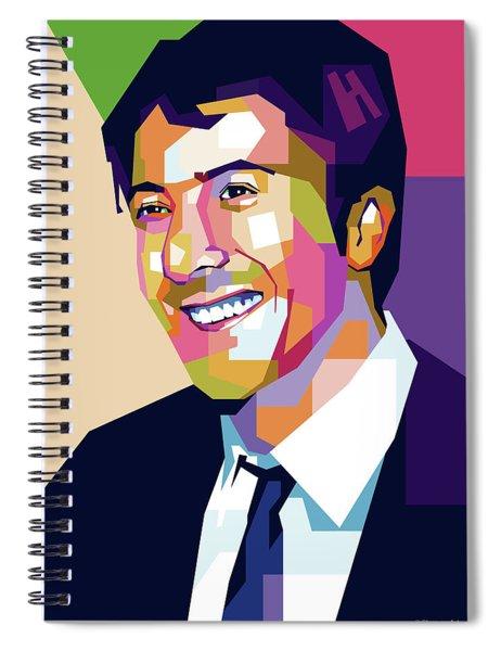 Dustin Hoffman Spiral Notebook