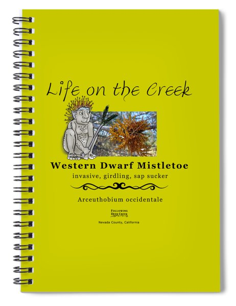 Dwarf Mistletoe Spiral Notebook