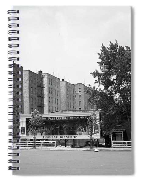 Dyckman Street And Riverside Drive, 1932 Spiral Notebook