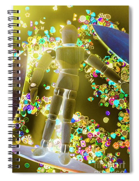 Dynamic Summer Break Spiral Notebook