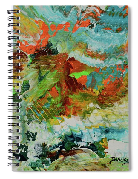 Dynamic Tension Spiral Notebook
