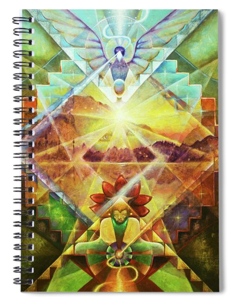 Eagle Boy And The Dawning Of A New Day Spiral Notebook