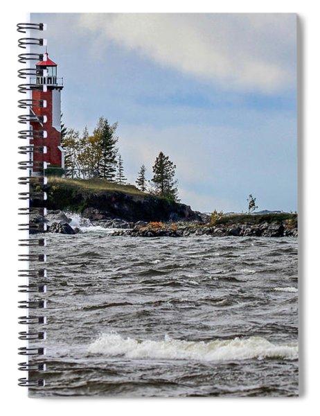 Eagle Harbor Lighthouse Spiral Notebook