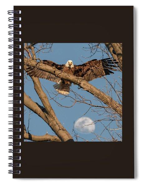 Eagle Moon 2 Spiral Notebook