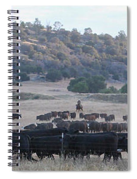 Early Gather Spiral Notebook