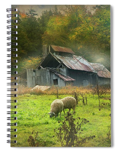 Early Morning Grazing Spiral Notebook