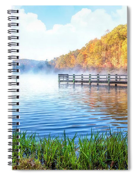 Early Morning Mists Spiral Notebook