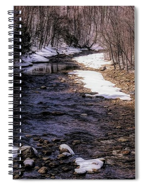 Early Spring In Southern Vermont Spiral Notebook