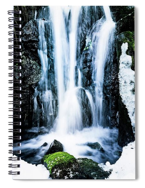 Early Spring Waterfall Spiral Notebook