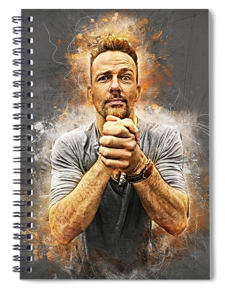Earnestly Flanery Spiral Notebook