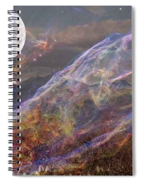 Earth Energy Spiral Notebook
