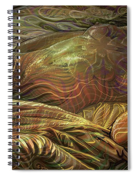 Earth Evening Spiral Notebook