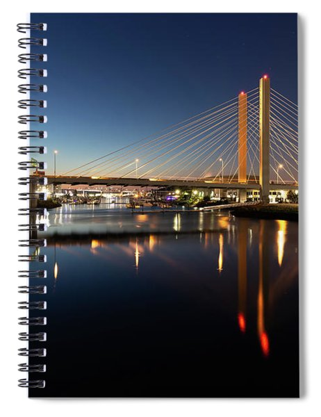 East 21st Street Bridge Spiral Notebook