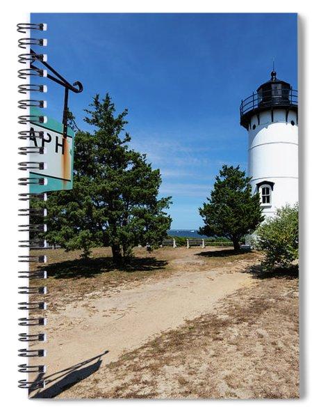 East Chop Lighthouse Marthas Vineyard Spiral Notebook