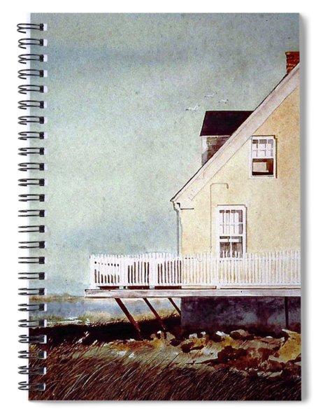 East Of Newberry Port Spiral Notebook