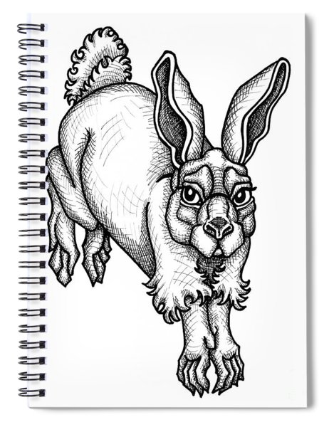 Eastern Cottontail Spiral Notebook