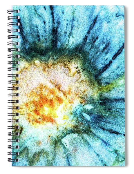 Eco Dyed Cosmos Spiral Notebook