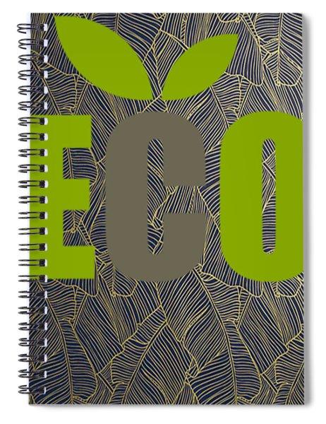 Eco Green Spiral Notebook