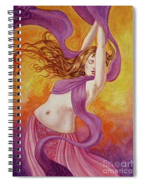Ecstatic Dance Spiral Notebook
