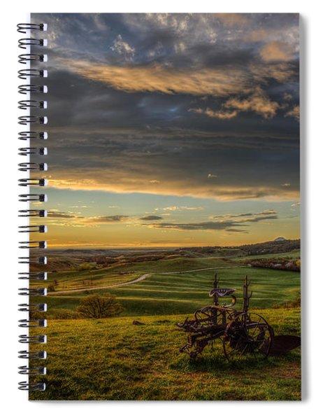 Eden At Sunrise Spiral Notebook