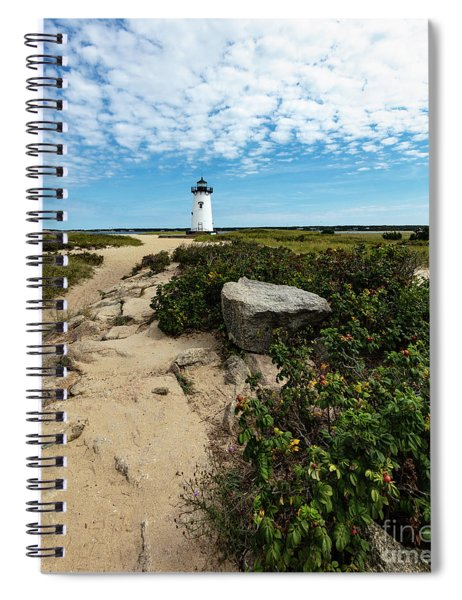 Edgartown Lighthouse Marthas Vineyard Spiral Notebook