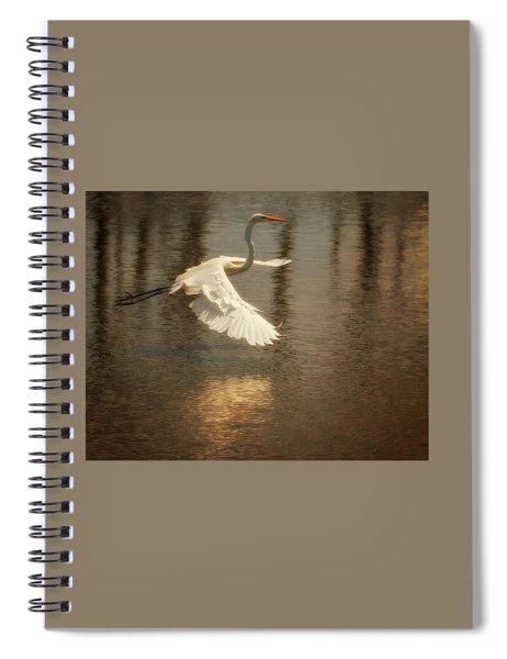 Egret 6 Spiral Notebook
