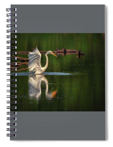 Egret 7 Spiral Notebook